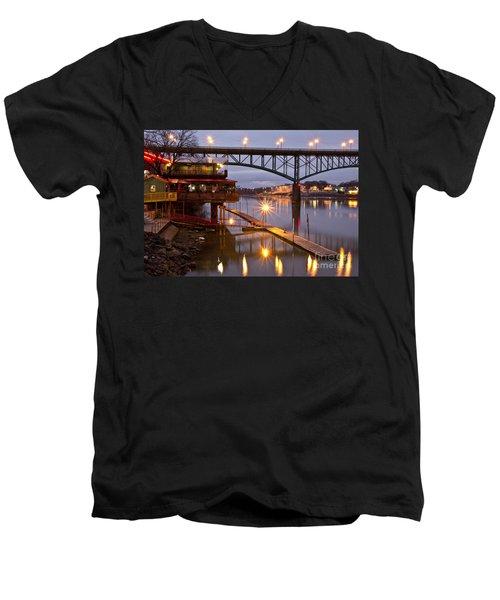 Good Morning Knoxville Men's V-Neck T-Shirt