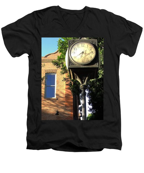 Men's V-Neck T-Shirt featuring the photograph Good Morning Sunshine by Natalie Ortiz
