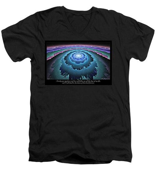 Goodness And Love Men's V-Neck T-Shirt