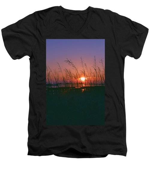 Goodnight Sun Men's V-Neck T-Shirt