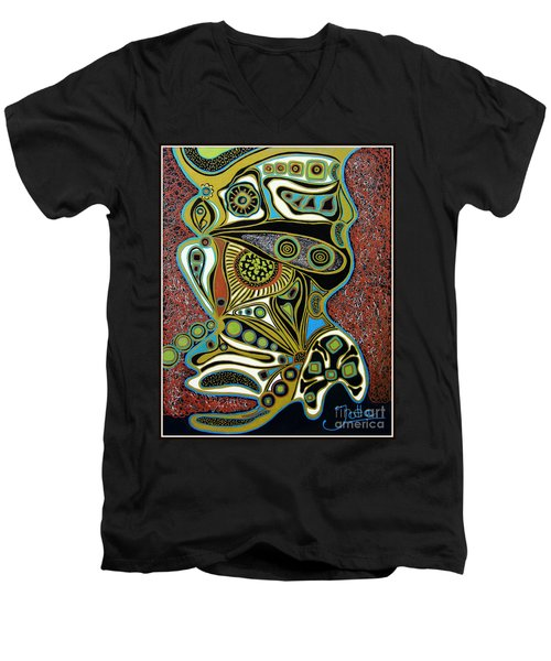 Grain De Folie.. Men's V-Neck T-Shirt