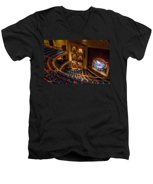 Grand 1894 Opera House - Galveston Men's V-Neck T-Shirt