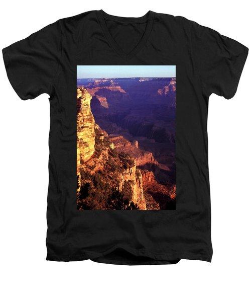 Grand Canyon Sunrise Men's V-Neck T-Shirt
