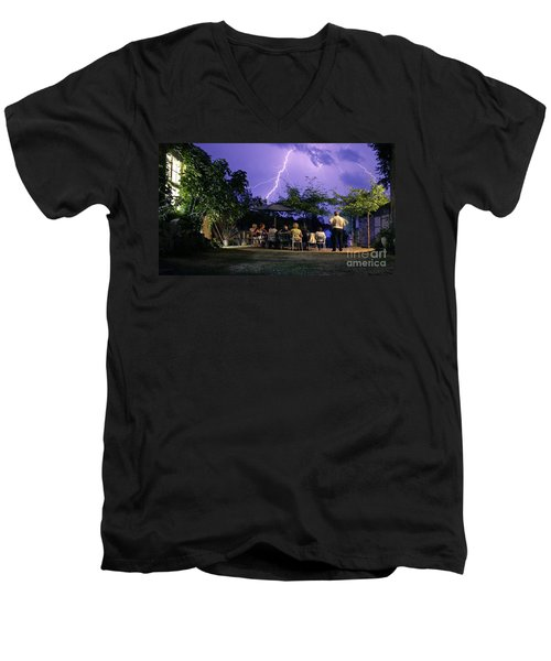 Grand Theatre Of Nature Men's V-Neck T-Shirt