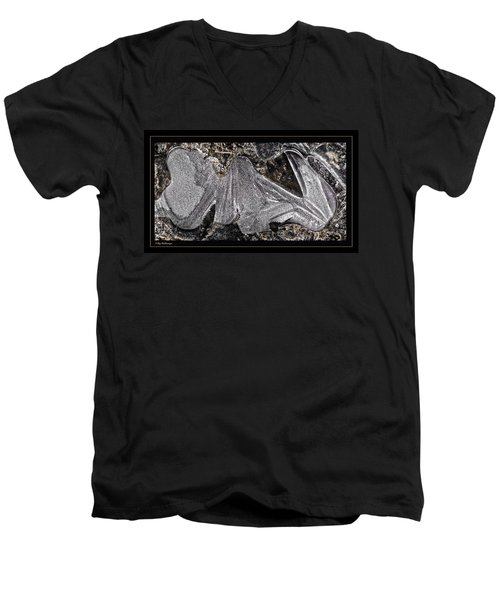 Graphic Ice Men's V-Neck T-Shirt