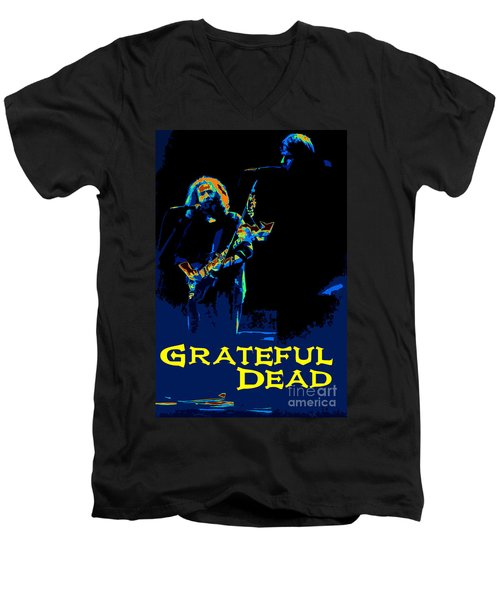 Grateful Dead - In Concert Men's V-Neck T-Shirt