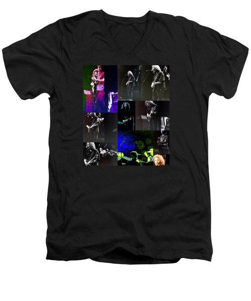 Grateful Dead - Nothing Like A Grateful Dead Concert Men's V-Neck T-Shirt by Susan Carella