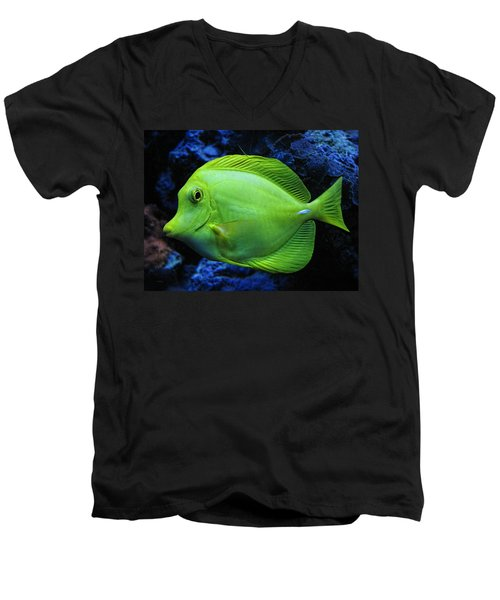 Green Fish Men's V-Neck T-Shirt