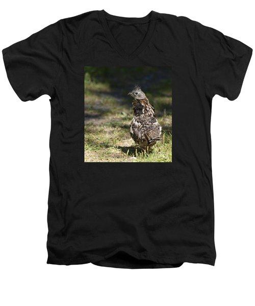 Grouse Hunter Men's V-Neck T-Shirt