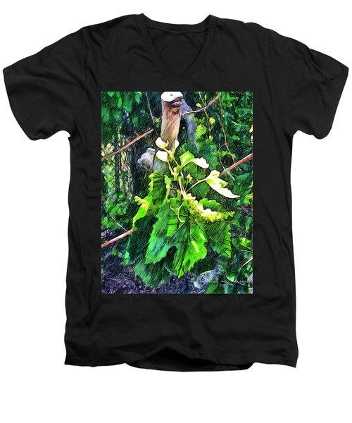 Grow Positively Men's V-Neck T-Shirt