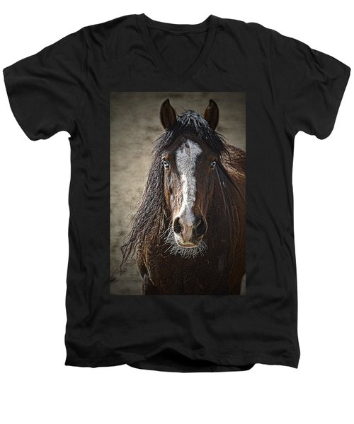 Grungy Boy Men's V-Neck T-Shirt