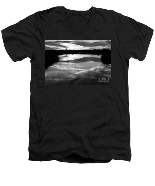 Guana Beach Reflections Men's V-Neck T-Shirt