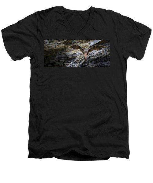 Guardian Angel Men's V-Neck T-Shirt