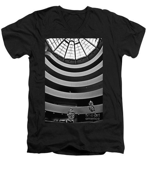 Guggenheim Museum - Nyc Men's V-Neck T-Shirt