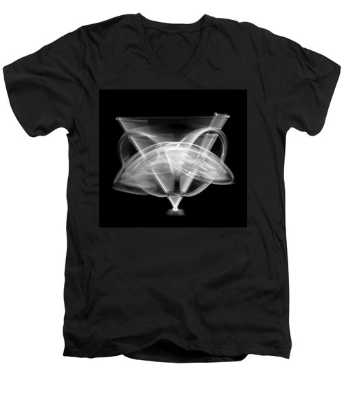 Men's V-Neck T-Shirt featuring the photograph Gyroscope by Jim Hughes