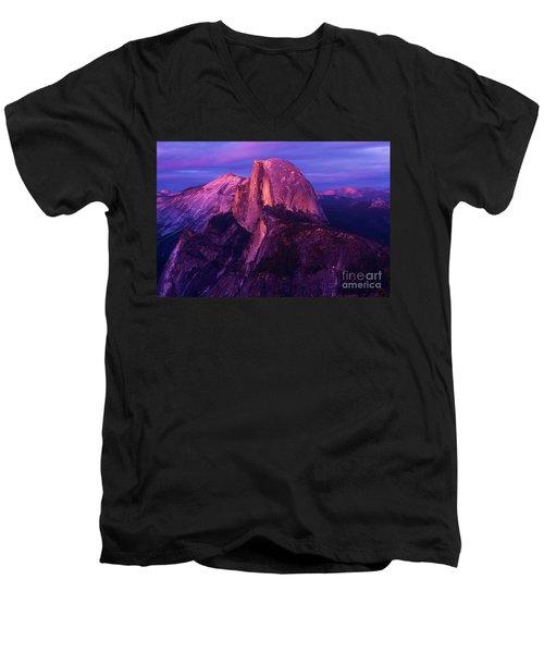 Half Dome Glow Men's V-Neck T-Shirt