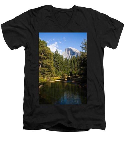Half Dome Yosemite National Park Men's V-Neck T-Shirt