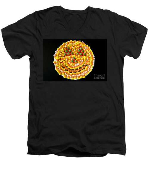 Halloween Candy Men's V-Neck T-Shirt