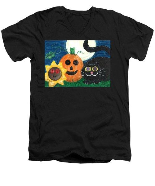 Halloween Fun Men's V-Neck T-Shirt