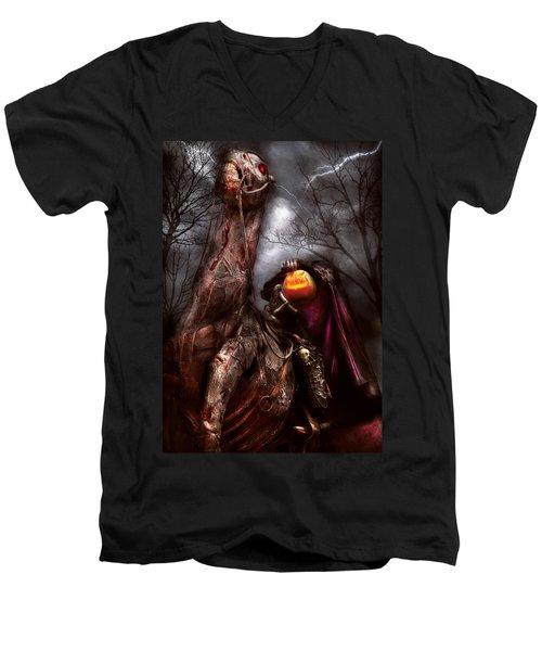 Halloween - The Headless Horseman Men's V-Neck T-Shirt