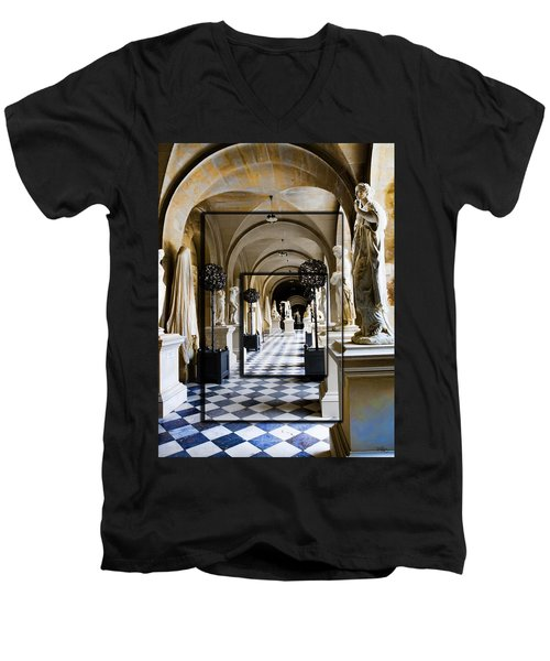 Halls Of Versailles Paris Men's V-Neck T-Shirt