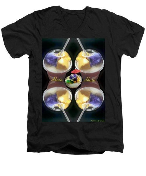 Halo Halo Desert Men's V-Neck T-Shirt