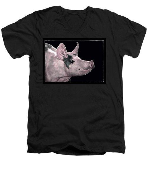 Hammin' It Up Men's V-Neck T-Shirt