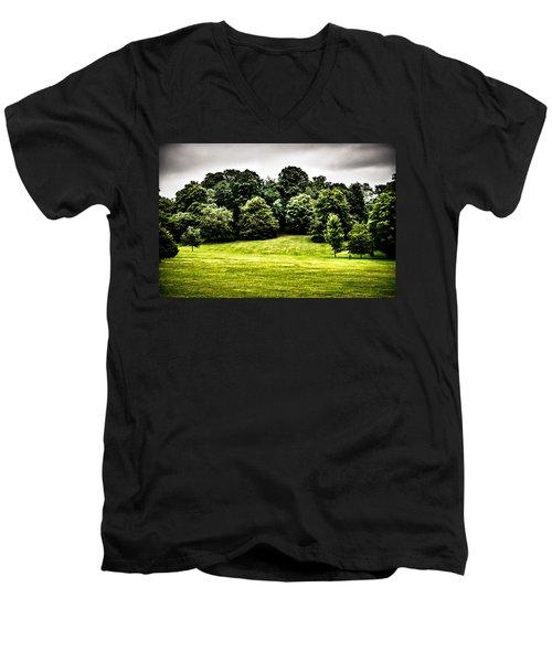 Hampstead Heath Greens Men's V-Neck T-Shirt