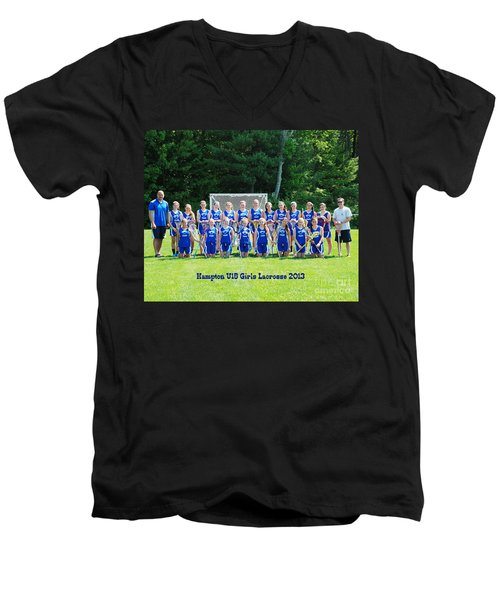 Hampton U15 Girls 2013 Men's V-Neck T-Shirt
