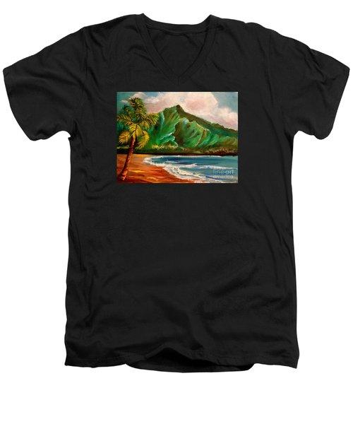 Hanalei Bay Men's V-Neck T-Shirt
