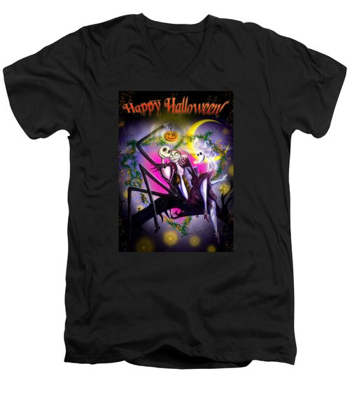 Happy Halloween II Men's V-Neck T-Shirt