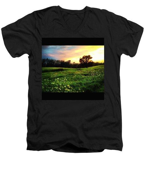 Happy Valley Men's V-Neck T-Shirt