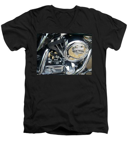 Harley Live To Ride Men's V-Neck T-Shirt