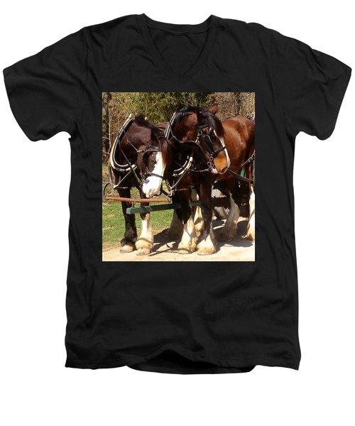 Harness Partners Men's V-Neck T-Shirt