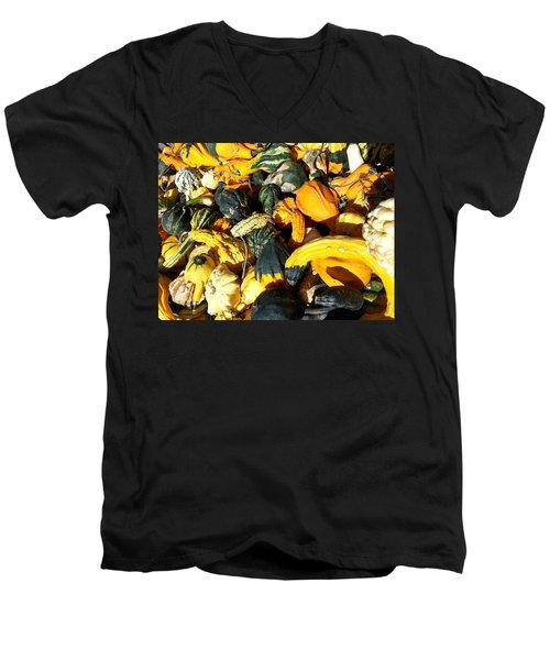 Harvest Squash Men's V-Neck T-Shirt