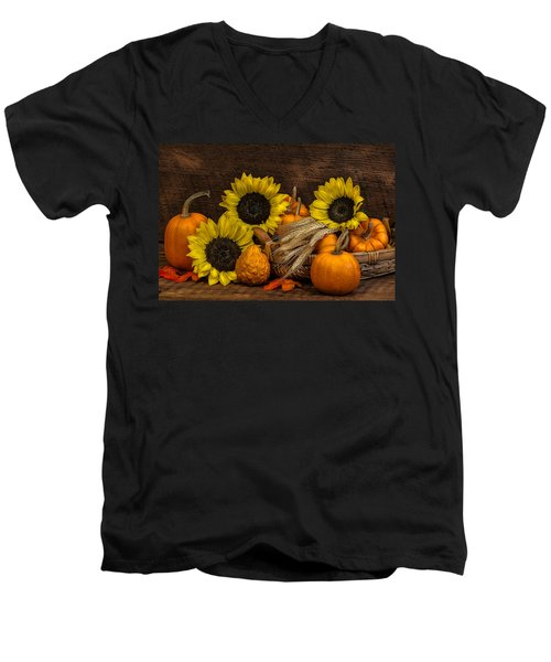 Harvest-time Men's V-Neck T-Shirt