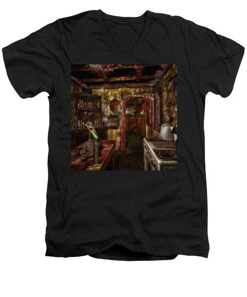 Haunted Kitchen Men's V-Neck T-Shirt