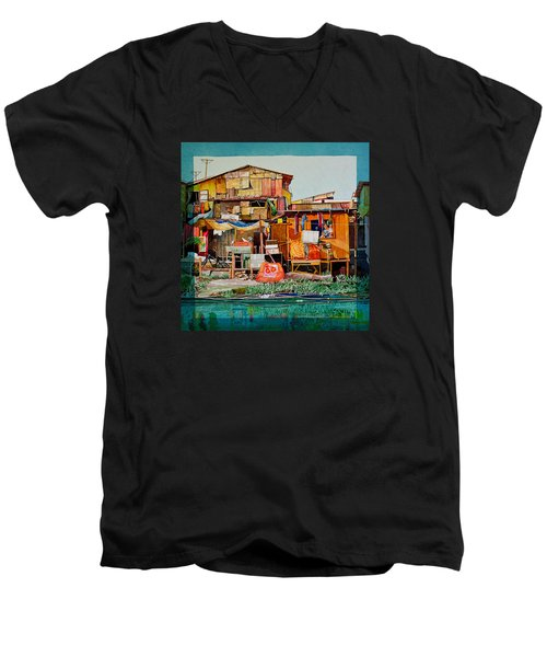 House Of Reused Building Materials Men's V-Neck T-Shirt