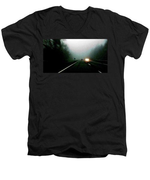 Headlights Men's V-Neck T-Shirt