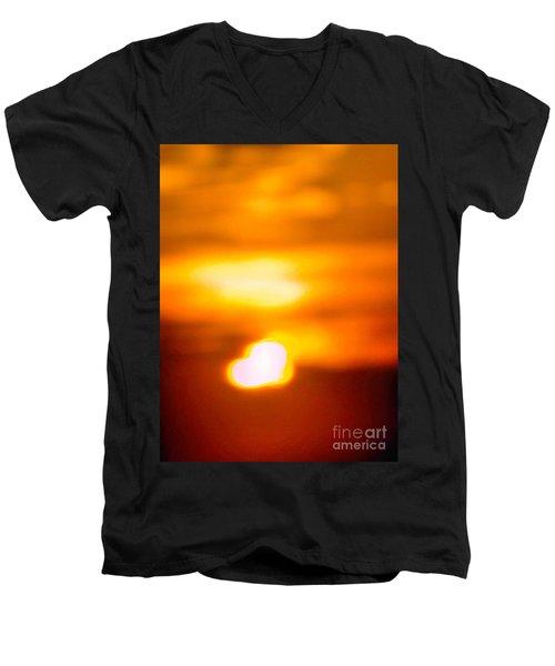 Heart Of The Day Men's V-Neck T-Shirt