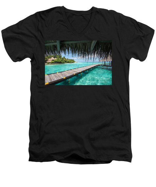 Heavenly View Men's V-Neck T-Shirt