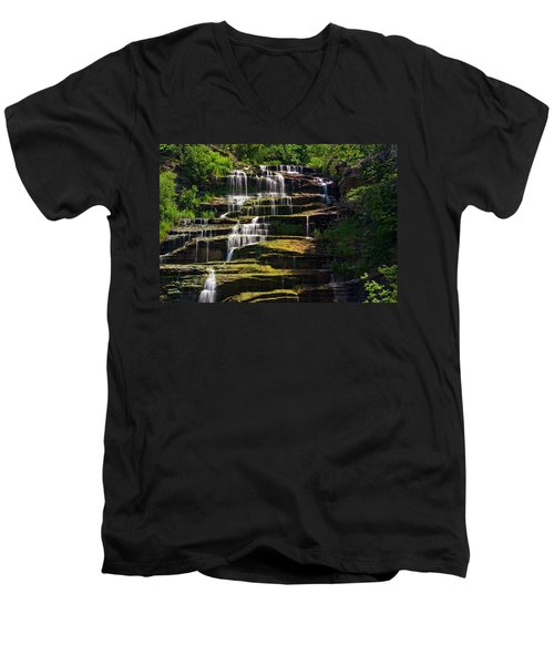 Hector Falls Men's V-Neck T-Shirt
