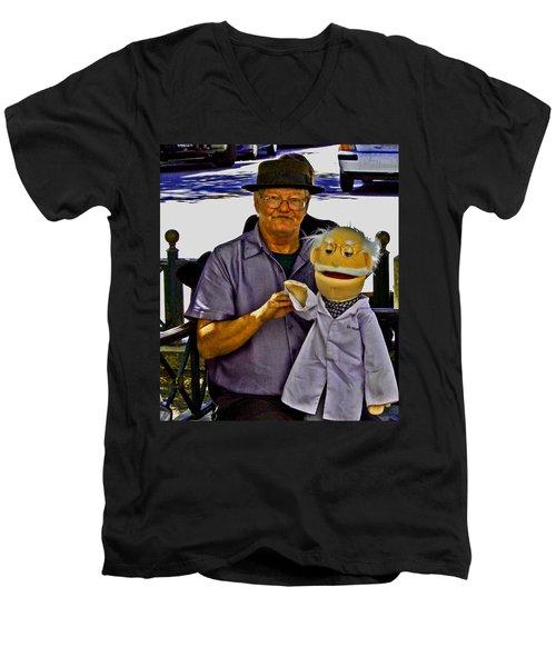 Hello 2 All Men's V-Neck T-Shirt