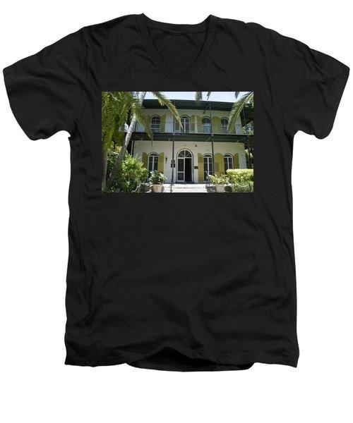 Hemingway's Hideaway Men's V-Neck T-Shirt