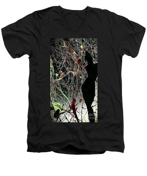 Her Crazy World Men's V-Neck T-Shirt