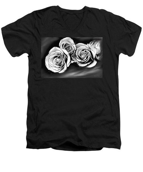 Her Roses Men's V-Neck T-Shirt