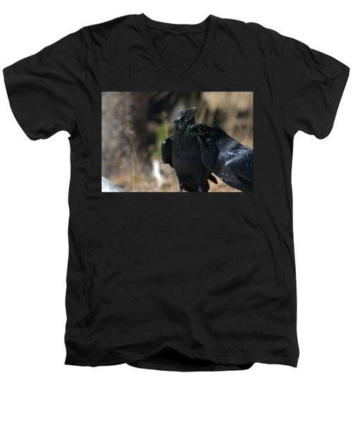 Here He Is Men's V-Neck T-Shirt