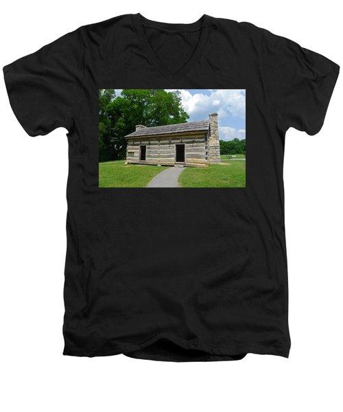 Hermitage Slave Quarters Men's V-Neck T-Shirt