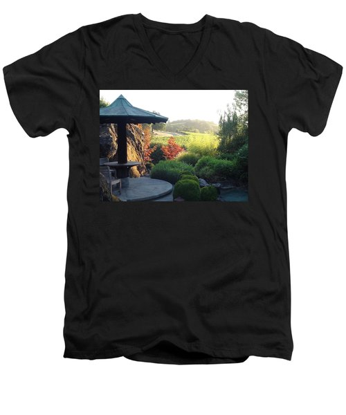 Men's V-Neck T-Shirt featuring the photograph Hide Out 2 by Shawn Marlow