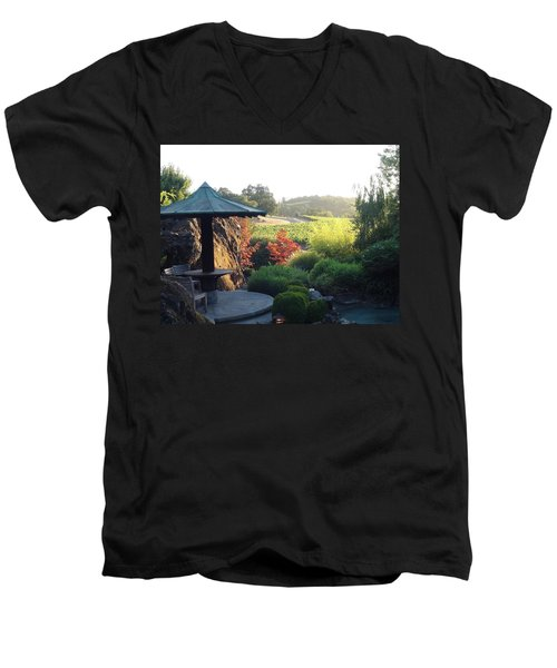 Men's V-Neck T-Shirt featuring the photograph Hide Out  by Shawn Marlow